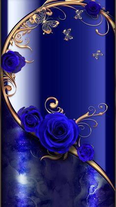 Blue Roses Wallpaper, Royal Wallpaper, Wallpaper Nature Flowers, Beautiful Landscape Wallpaper, Flower Background Wallpaper, Beautiful Flowers Wallpapers, Flower Phone Wallpaper, Love Wallpaper, Cellphone Wallpaper
