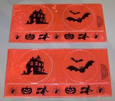 Halloween Safety Reflectables Orange Stickers 6 Count Reflectibles #WonderTreats