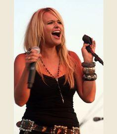 miranda lambert in her VINTAGE-STYLED ROSARY NECKLACE - { Junk GYpSy co. - http://gypsyville.com/vintage-styled-rosary-necklace-50-10820-n.html }