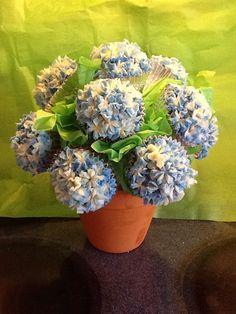 Bridal Shower cupcake bouquet