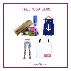 Get free yoga gear for the new year when you refer friends!