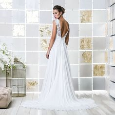 Gio Rodrigues Paloma Wedding Dress gracious wedding dress crepe lace sweetheart engaged inspiration unique gorgeous elegant bride