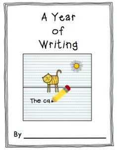 Have students write a short entry every month about themselves. Great way to track their writing progress throughout the year.