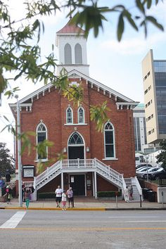Alabama - Dexter Avenue King Memorial Baptist Church in the state capital of Montgomery.  Dr. Martin Luther King, Jr. was the preacher here before he died in 1968. AL became the 22nd state to enter the union on December 14, 1819.