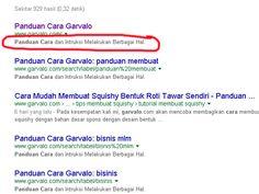 Cara Agar Masuk Halaman Pertama Google dengan SEO