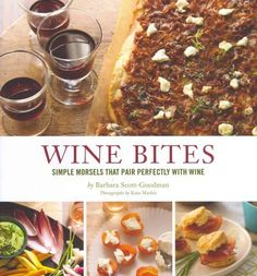 This book is focused on casual entertaining for wine drinkers, 60 recipes for snacks and small plates that pair excellently with wine.