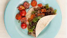 Bœuf à la mexicaine et haricots noirs