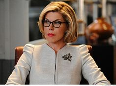 Diane Lockhart, Senior Partner at Lockhart/Gardner, on The Good Wife played by Christine Baranski.