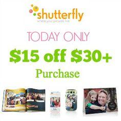 Shutterfly promo codes: http://www.coupondad.net/shutterfly-promo-code/
