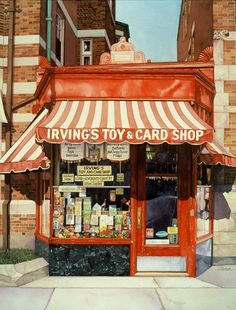 Irving's Toys & Cards, Brookline, Massachusetts, USA