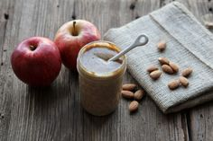 Apple Cinnamon Almond Butter: The classic flavours of apple and cinnamon combined with roasted, creamy almond butter all in one jar. Ingredients: 2 ounce freeze-dried apples 2 cups raw, unsalted almonds, roasted 1/2 teaspoon cinnamon 1/4 teaspoon kosher salt