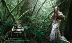 'Getting Primeval' Rachel Clark By Raymond Meier For New York Times Style, Fall 2008