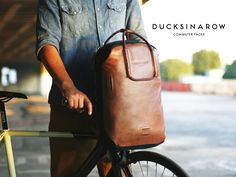 We just backed this brilliant and thoughtful commuter backpack for cyclists DUCKS IN A ROW