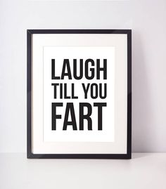 For those of us that appreciate some good bathroom humor, this print is perfect! How good would this print be on the wall above your porcelain throne?! Let us know if you have specific size requirements and we would be happy to work with you. Printed on matte card stock with
