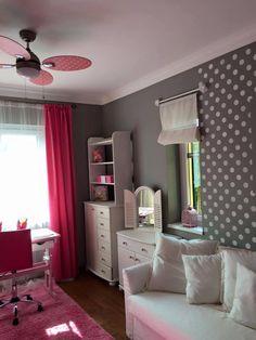 Annie Sloan Wall Paint Paris Grey - Lányszoba átalakításom, a fal Annie Sloan Paris Grey falfestékével, a bútorok az Annie Sloan Chalk Paint Pure színével.