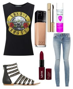 """Untitled #9798"" by ohnadine on Polyvore featuring Yves Saint Laurent, Dolce&Gabbana, Miss Selfridge, NYX and Maybelline"