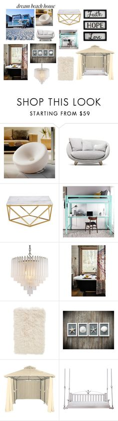 Untitled #132 by creepypastagirl1217 on Polyvore featuring Anthropologie, New View, Nordstrom, Eichholtz, Christopher Knight Home, Moooi and Lowcountry Originals