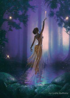 27 Ideas for fantasy art women fairies elves Fantasy Art Women, Fantasy World, Fantasy Paintings, Fantasy Artwork, Mermaid Paintings, Black Girl Art, Art Girl, Elfen Fantasy, Fairy Pictures