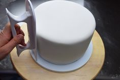 How To Cover A Styrofoam Dummy Cake Tier With Fondant | For Beginners