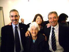 Con Annarella, Alessandro e Pino alla Camera