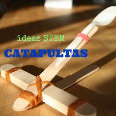 Juguetes científicos: catapulta