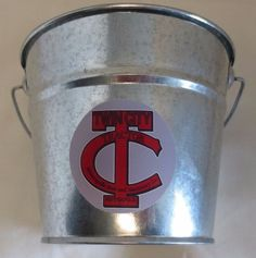 "NEW MINNEAPOLIS-MOLINE ""TWIN CITY LOGO"" GALVANIZED PAIL LOGO USED FROM 1910-1929"