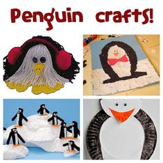 Each year on January we celebrate Penguin Awareness Day! Check with your local zoos and aquariums to see if. Crafts For Boys, Family Crafts, Craft Projects For Kids, Craft Activities For Kids, Crafts To Do, Childcare Activities, Educational Activities, Craft Ideas, Penguin Awareness Day