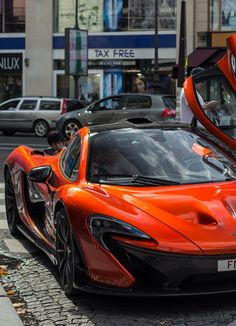 Mc Laren P1. More #sports #car pics One of my favorite colors!