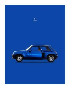 size: Stretched Canvas Print: Renault 5 Turbo 1983 by Mark Rogan : Entertainment Using advanced technology, we print the image directly onto canvas, stretch it onto support bars, and finish it with hand-painted edges and a protective coating. Renault 5 Turbo, Alpine Renault, Gt Turbo, Car Illustration, Car Posters, Automotive Art, Painting Edges, Stretched Canvas Prints, Exotic Cars