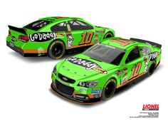 Danica Patrick's No. 10 Go Daddy Chevrolet paint scheme on the new Chevrolet SS stock car!
