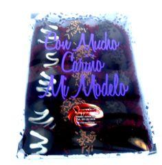 caja impresa c/ 15 pz  fresas con chocolate