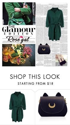 """Green set"" by antonija2807 ❤ liked on Polyvore featuring pretty, jeans and rosegal"