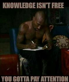 Educate yourself!