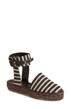 Free People 'Aurora' Ankle Strap Espadrille (Women) available at #Nordstrom