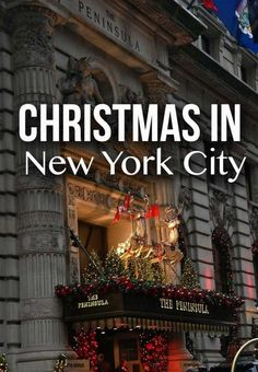 Tips what to do and see during Christmas time in New York City. There is no other city like NYC!