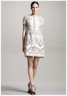 Celebrities who wear, use, or own Valentino Spring 2012 RTW Laser Cut Dress. Also discover the movies, TV shows, and events associated with Valentino Spring 2012 RTW Laser Cut Dress. 1920 Outfits, Knit Dress, Lace Dress, Long White Maxi Dress, Dress Long, Silky Dress, Valentino Dress, Star Fashion, White Lace