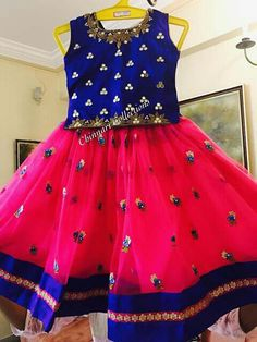 Kids Dress Wear, Kids Gown, Kids Dress Up, Dresses Kids Girl, Kids Wear, Baby Dress, Kids Outfits, Frock Design, Kids Lehenga Choli