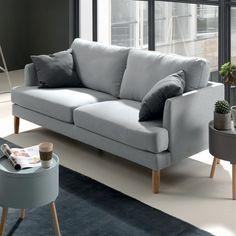 Un canapé gris à 279 euros, Cocktail Scandinave - Marie Claire Maison