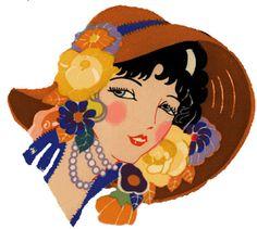 10 Art Deco Vintage Style Glamour Decals by on Etsy Vintage Cards, Vintage Postcards, Art Deco Cards, Art Deco Illustration, Banner, Inspiration Art, Art Deco Era, Free Graphics, Art Deco Design