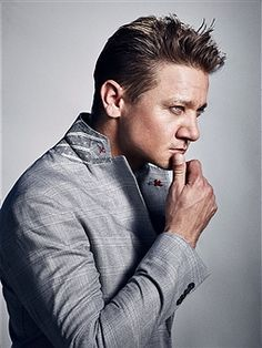Jeremy Renner is photographed for Nobelman Magazine on June 14, 2017 in Los Angeles, California. ON