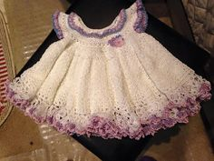 Ravelry: Lilly's Heirloom Lace Dress pattern by White Deer Enterprises