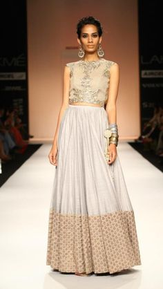 Payal Singhal lakme fashion week 2013
