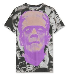 Christopher Kane  Face Frankenstein Tee