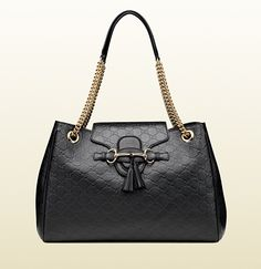 Gucci - Emily Guccissima Leather Shoulder Bag 336757AA61Y1000