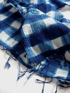 Plaid Indigo