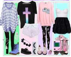 Here is Goth Outfit Ideas Picture for you. Goth Outfit Ideas gothic street style ideas for women 2020 fashiontrendwalk. Pastel Punk, Pastel Goth Fashion, Pastel Grunge, Kawaii Fashion, Cute Fashion, Fashion Fashion, Fashion Outfits, Soft Grunge, Street Fashion