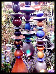 garden totems on this site... cool