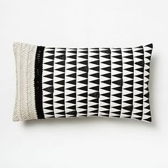 Stacked Triangles Pillow Cover #westelm