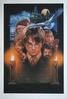 Harry Potter and the Sorcerer's Stone, by Drew Struzan.