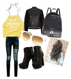 """""""Untitled #12"""" by alevsumer on Polyvore featuring Hollister Co., Boohoo, rag & bone, Michael Kors and Tom Ford"""